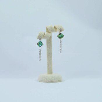 Boucles d'oreilles en abalone