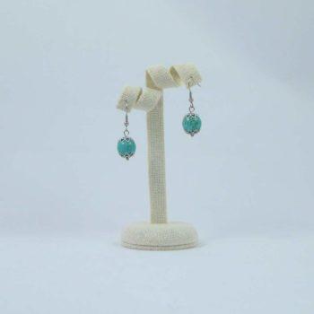 Boucles d'oreilles en turquoises