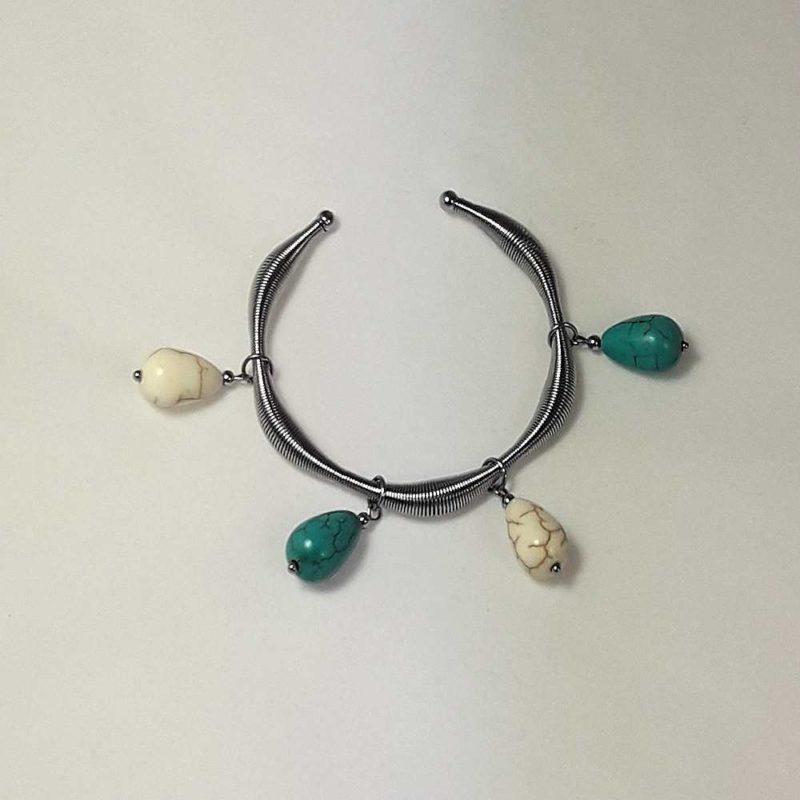 Bracelet en howlite