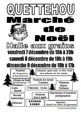 Marché de Noël de quettehou